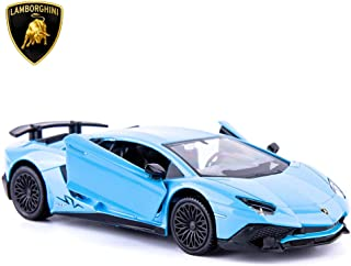 TGRCM-CZ 1/36 Scale Aventador LP700-4 Casting Car Model, Zinc Alloy Toy Car for Kids, Pull Back Vehicles Toy Car for Toddl...