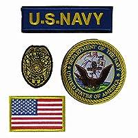 ベルクロワッペン U.S.NAVY SECURITY FORCES 4点セット (1)
