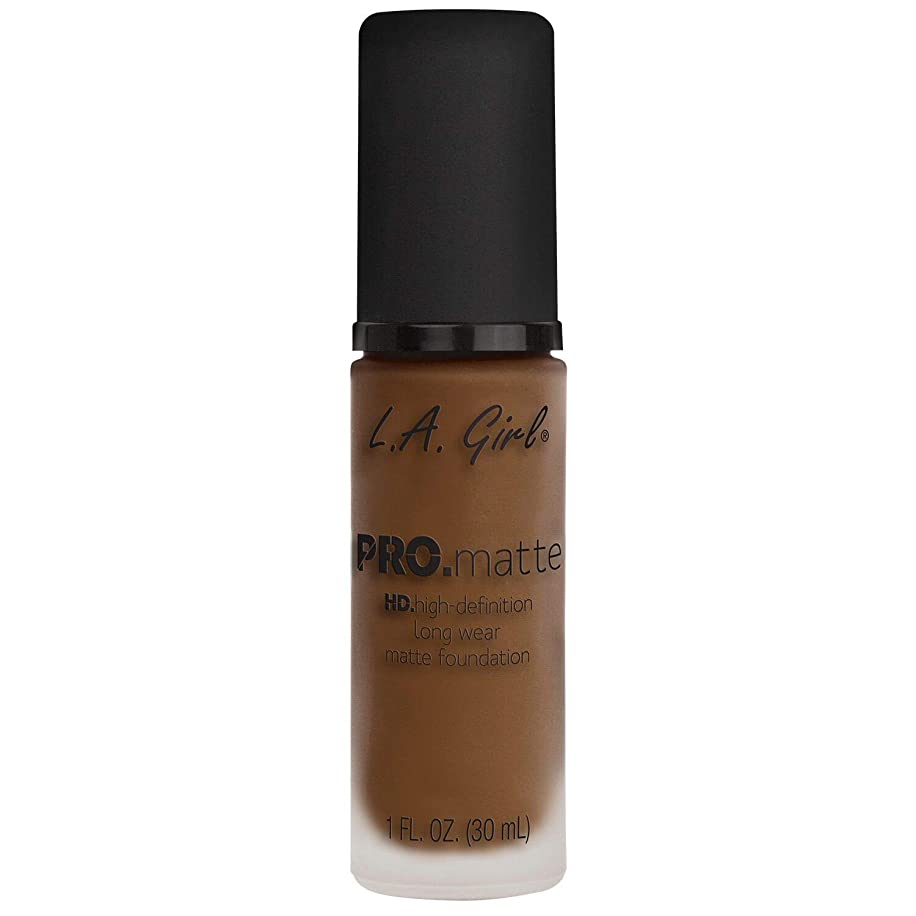 符号浅い航空機(6 Pack) L.A. GIRL Pro Matte Foundation - Soft Sable (並行輸入品)