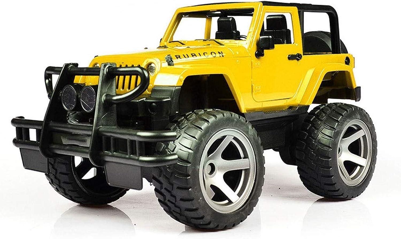 Telecouomodo auto Kit RC1  16 modellolo tutti Terrain Radio Control Corse Monster Truck Boy Gift (Coloree   gituttio)