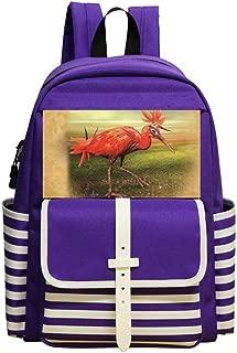 Small School Backpack For Kindergarten Unisex Children,Print Easter,Purple