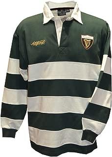 Guinness Bottle/Cream Harp Badge Rugby Shirt