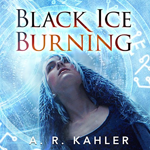 Black Ice Burning audiobook cover art