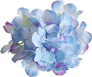 Eternal Blossom Blooming Artificial Hydrangea Head, Fake Flower Diameter 15CM, for DIY Bouquet Wedding and Home Decoration...