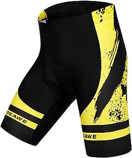 HOMYL Men's Cycling Shorts Gel Padded MTB Bike Bicycle Pants Tights, Anti-Slip Design, Breathable & Moisture Wicking
