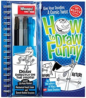 How to Draw Funny: Give Your Doodles A Comic Twist