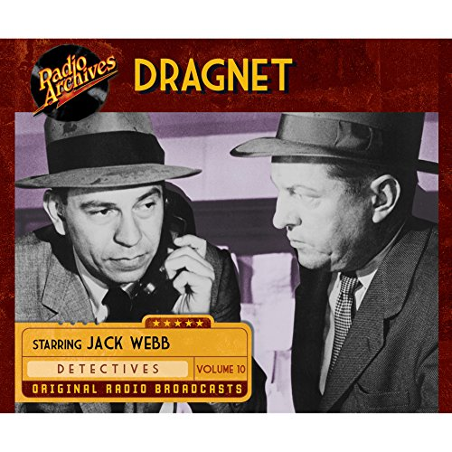 Dragnet, Volume 10 cover art