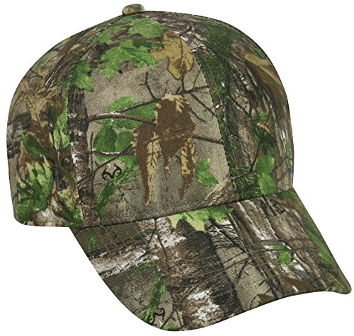 Realtree Adjustable Closure Blank Cap, Realtree Xtra Green Camo