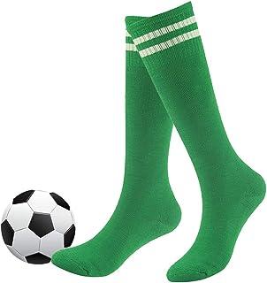 Youth Soccer Socks, Fasoar Teens Knee High Rugby Baseball Socks Long Tube Socks 2/6/10 Pack