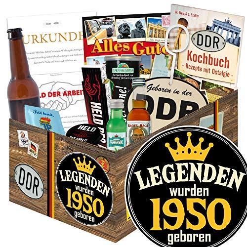 Legenden 1950 | DDR Männer Geschenk | Geschenkset Männer