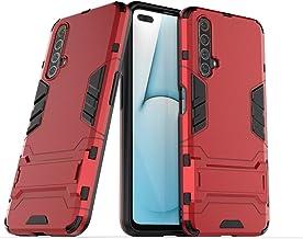 جراب Wuzixi لهاتف Realme X50 5G. قوي ومتين، مسند مدمج، مضاد للخدش، امتصاص الصدمات، متين، غطاء لهاتف Realme X50 5G. Realme X50 5G Realme X50 5G