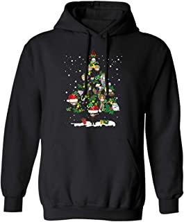 Funny Best Friends Harry Magical Wizard Potter Christmas Tree Hoodie