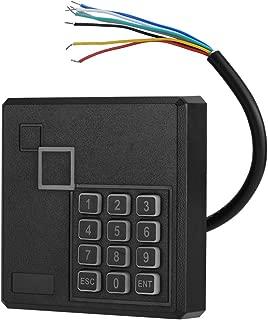 カードリーダー、防水RFIDリーダーラインエラー保護1-6インチセンスアクセスコントロールカードリーダー付きキーパッド、メモリカードリーダー、スクエアカードリーダー