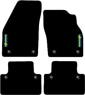 VOLVO S60 SU MISURA tappetini AUTO dal 2010 IN POI-NERO