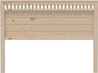 PEJECAR cabecero Modelo Bora para Cama de 150 Fabricado en Madera Maciza de Pino insigni Acabado en Crudo sin Pintar