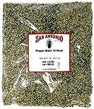 San Antonio Premium Coarse Ground Black Pepper (12 Mesh) for Barbeque Grilling Meat Rub Seasoning, 16 Ounce Bulk Size