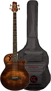 Sawtooth Rudy Sarzo امضاء گیتار باس آکوستیک-برقی ، شامل کیسه گیگ خالی