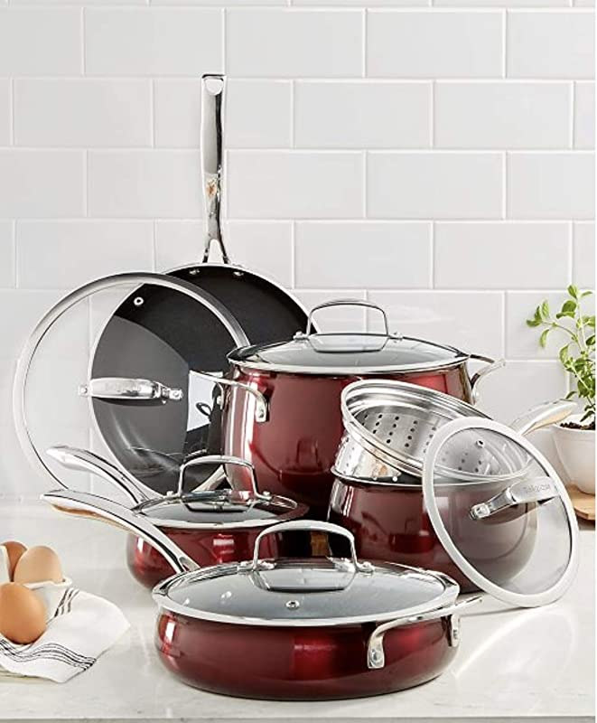 Belgique Stainless Steel Cookware 11 Piece Set