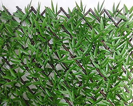 Wonderland Set of Two : Artificial Willow with Leaves 3 Meter Long Roll