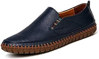 Mocassins à boucle élégants pour hommes Confortable De Conduite Mocassin for Hommes Casual Chaussures Slip on Bande Élasti...