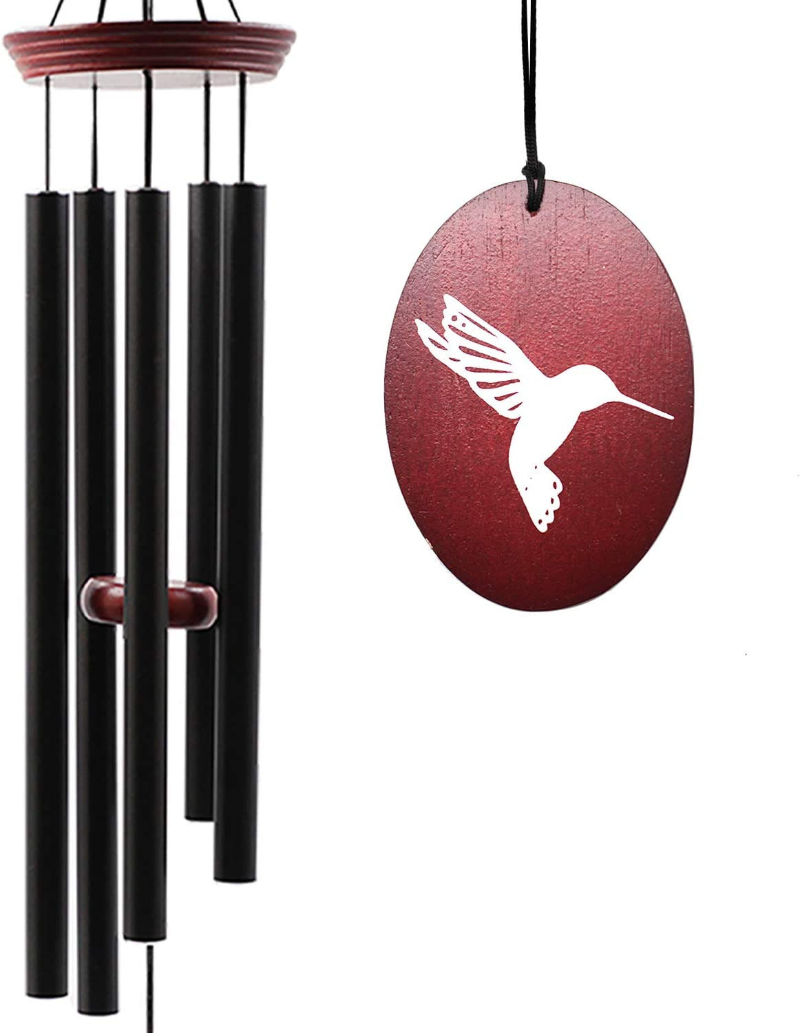 Wind Chimes for Outside, Wind Chimes Outdoor Tuned Soothing Melody, Memorial Wind Chimes Gifts for Mom/Grandma, Hummingbird Wind Chimes Outdoor Decoration, Patio, Garden, Yard. : Everything Else