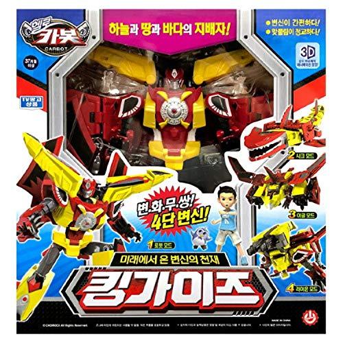 Hello Carbot King Guys - 4 Mode (Robot, Shark, Eagle,...