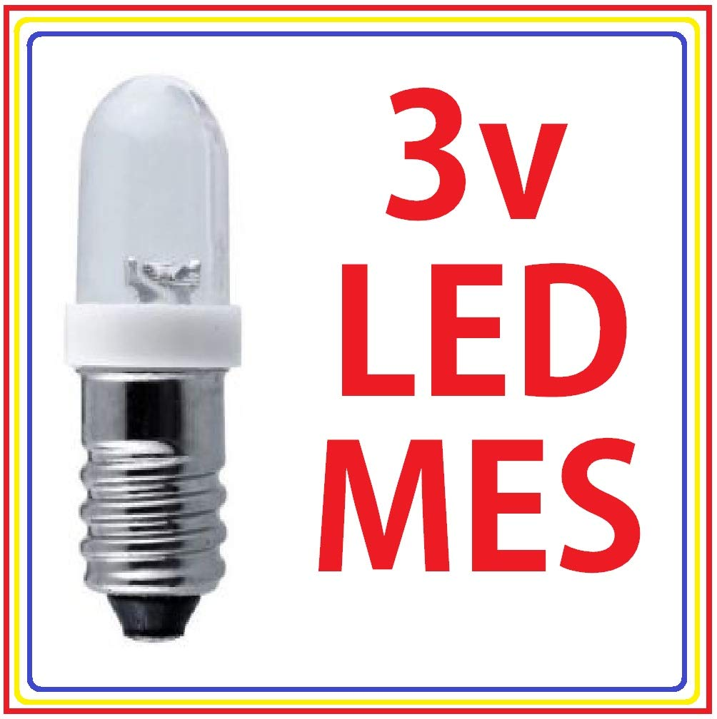 MES screw LED. 6V Red | JPR Electronics Ltd