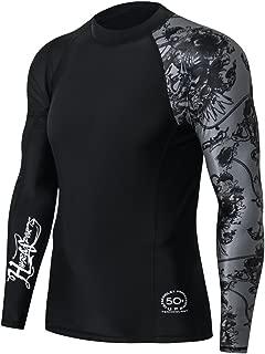 Men's Splice UV Sun Protection UPF 50+ Skins Rash Guard Long Sleeves