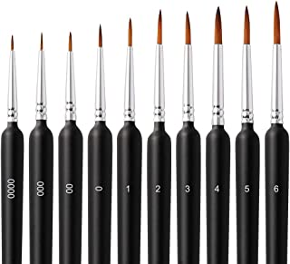 画材筆 ペイントブラシ アクリル筆 水彩筆 画筆 油絵筆 アクリル絵の具 アクリル筆