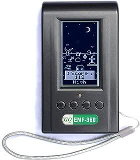 GQ Ghost Meter Ghost Detector 3-in-1 EMF-360 Multi-Field EMF Meter RF Detector Sensor
