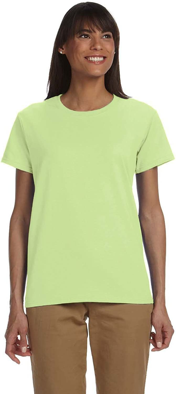 By Gildan Gildan Ladies Ultra Cotton 6 Oz T-Shirt - Mint Green - 2XL - (Style # G200L - Original Label)