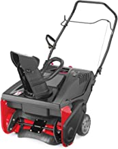 Craftsman 179cc Electric Start Single Stage Gas Powered Snow Blower with 21-Inch Clearing Width