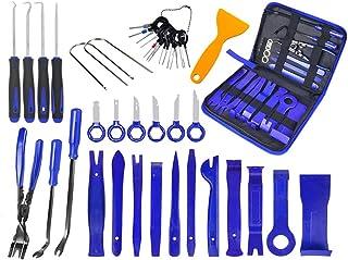 Mabor Kit de Ferramentas de Desmontagem de Painel de Ferramentas de Corte Automático 38 peças, Kit de Remoção de Painel de...