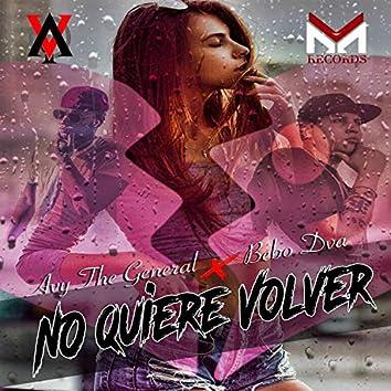 No Quiere Volver (feat. Bebo Dva)