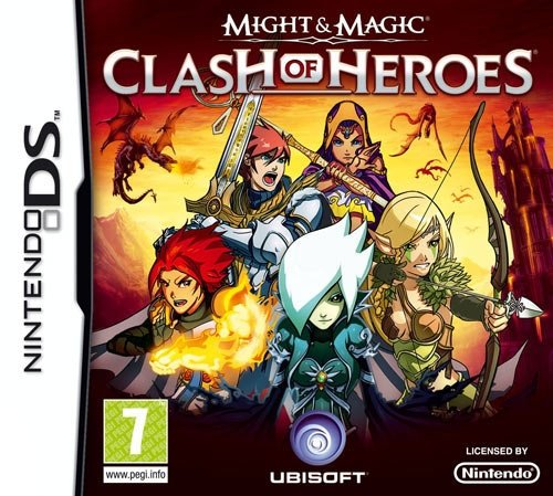 MIGHT & MAGIC: CLASH OF HEROES NDS