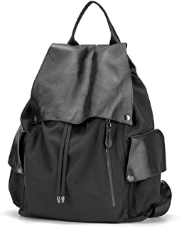 XUAN YUAN Backpack - Women's Fashion Wild Casual Bag, Large Capacity Can Accommodate 16-inch Computer A4 Magazine File, Single-back Double-back Dual-use Bag backpack