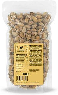 KoRo - Pistache noten met dop 1 kg - Zacht geroosterde en gezouten pistachenoten in een voordeelverpakking