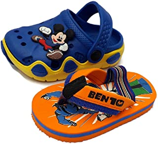 NEW AMERICAN Baby Boy's Fashion Sandal with Slipper