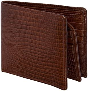 PU Men Wallet Business Man Wallet Casual Fashion Multi-Function Wallet for Shopping (Color : Brown, Size : S)