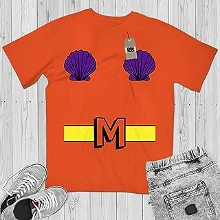Mermaid Man Costume Halloween Merman Outfit Sponge Bob Character Customized Handmade Hoodie/Sweater/Long Sleeve/Tank Top/Premium T-shirt