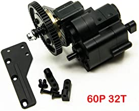 AX2 2 Aluminum Speed Transmission Case Gearbox for AXIAL Wraith 90018 90053 90048 1/10 RC Crawlers Black