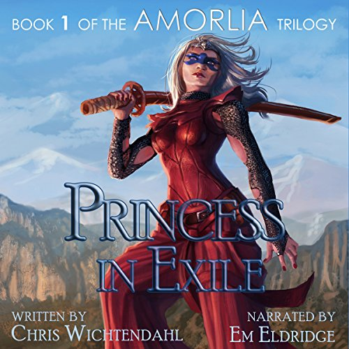 Princess in Exile audiobook cover art