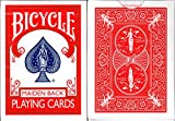 Marked Maiden Back Bicycle Trick Playing Cards Poker Size Deck USPCC (Red)