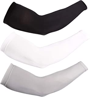 Newbyinn UV Protection Cooling Arm Sleeves for Men Women