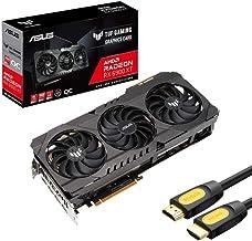 ASUS TUF Radeon RX 6900 XT OC Edition Graphics Card, 16GB 256-Bit GDDR6, PCI Express 4.0, VR Ready, HDCP Ready, Axial-tech...