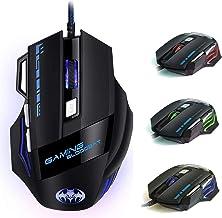 iAmotus Mouse da Gioco, Ergonomico Mice da 7200 DPI Regolabile Ottico Mouse 7 Pulsanti RGB Gaming Mice Gioco Lavoro Mouse ...