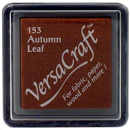 VersaCraft vks-153Stempel Stoff, kleiner Cube 25x 25mm Herbst Blatt
