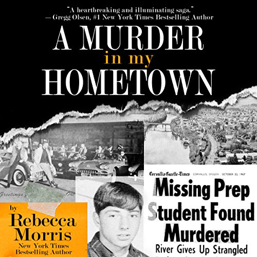 A Murder in My Hometown audiobook cover art