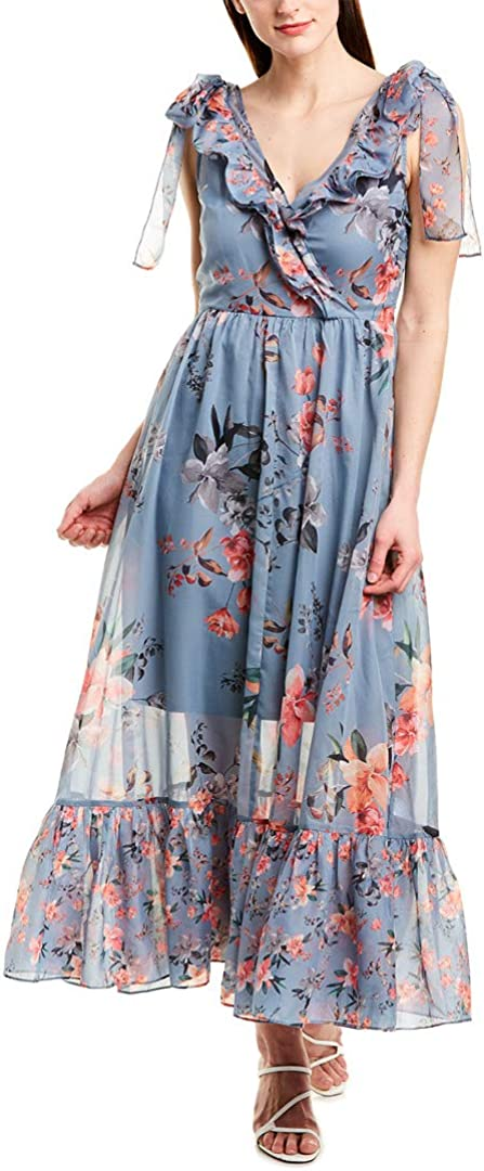 French Connection Women's Floral Maxi Dress