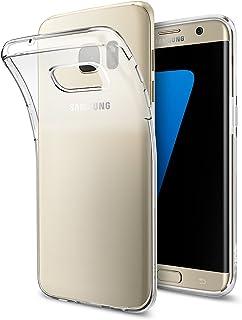Spigen Liquid Crystal hoesje Compatibel met Samsung Galaxy S7 Edge -Crystal Clear